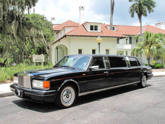Rolls-Royce : Silver Spirit/Spur/Dawn SPUR III 1996 silver spur iii limousine only 53 000 miles extremely rare car
