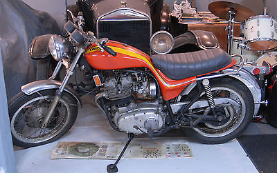 Triumph : Other 1973 triumph hurricane x 75 three cylinder limited production of only 1 172