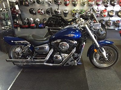 Suzuki : Marauder Suzuki Marauder 1600 Blue a lot of custom parts