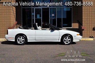 Oldsmobile : Cutlass Base Convertible 2-Door 1995 oldsmobile cutlass supreme 2 dr convertible