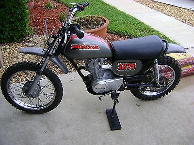 Honda : XR 1973 honda xr 75 project bike xr 75 vintage