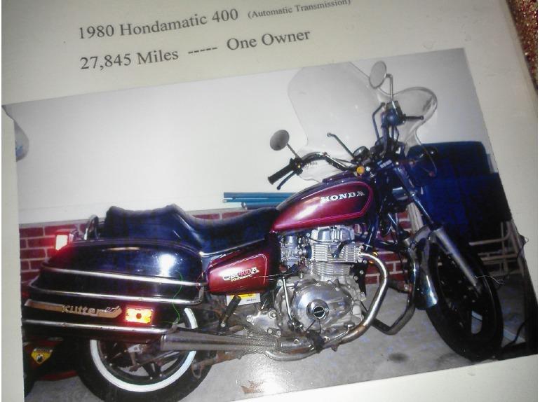 1980 Honda Cm Series 400A