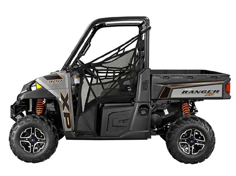 polaris ranger xp 900 eps titanium matte metallic le motorcycles for sale. Black Bedroom Furniture Sets. Home Design Ideas