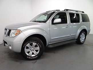 Nissan : Pathfinder LE Leather Sunroof 3rd Row We Finance 2006 nissan pathfinder le leather sunroof 3 rd row we finance 92 k low miles