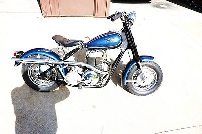 Other Makes : MUSTANG 1962 mustang scooter fully restored big engine wire wheels 4 speed hot rod bike
