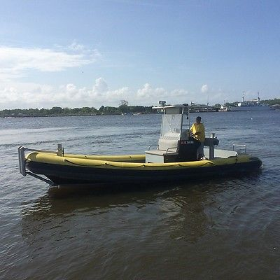 Atlantic Radial 26' Rhib Fast Response Tow Boat