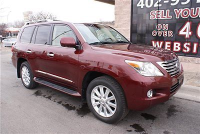 Lexus : LX 4WD 4dr 2008 lexus lx 570 4 x 4 leather heated cooled seats nav back up cam bluetooth