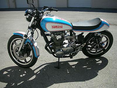 Yamaha : XS CUSTOM BUILT CAFE/TRACKER