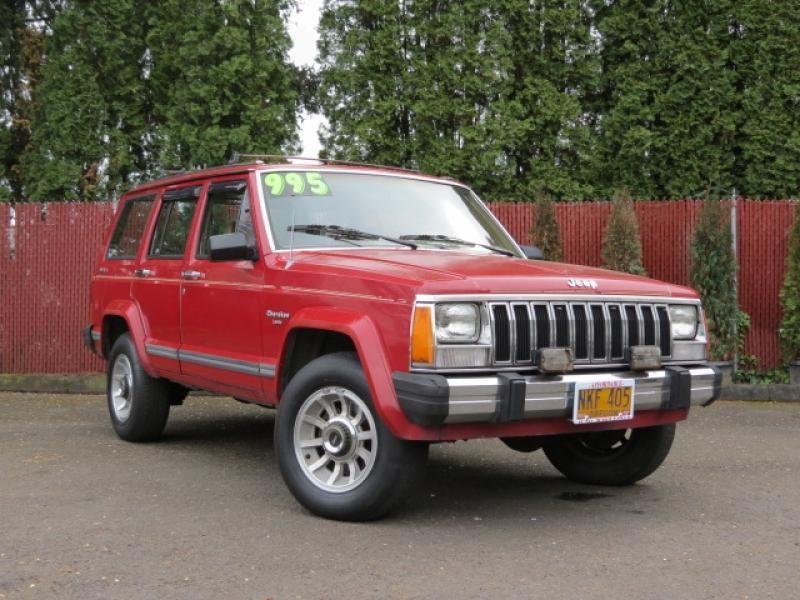 1987 jeep cherokee cars for sale. Black Bedroom Furniture Sets. Home Design Ideas