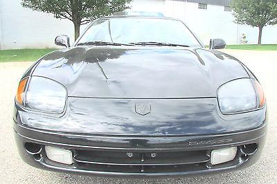 Dodge : Stealth Base Hatchback 2-Door 1994 dodge stealth black 93 k miles hatchbakc sports coupe car v 6 automatic nice