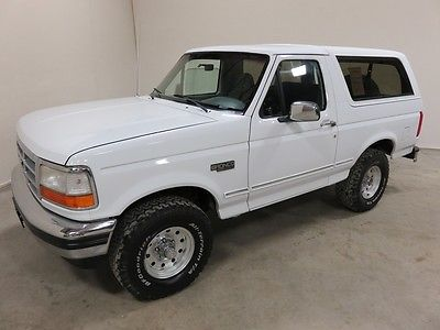Ford : Bronco XLT Sport Utility 2-Door 1994 ford bronco xlt 5.8 l v 8 auto 4 wd 2 colorado owners 80 pics