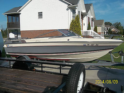 1987 wellcraft 180 classic 18ft bowrider/runabout, rebuilt motor
