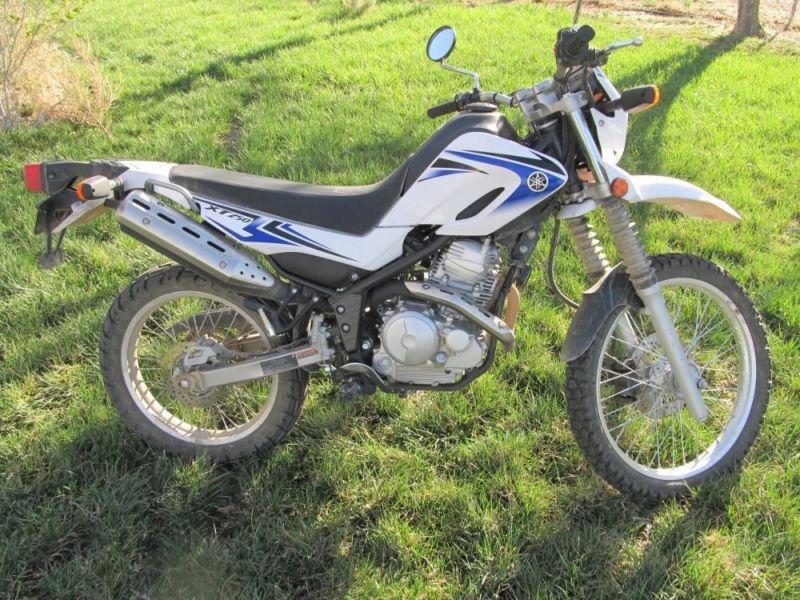 2012 Yamaha XT250