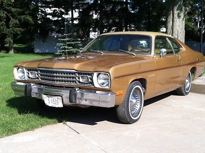 Plymouth : Duster gold duster 1973 plymouth duster gold duster