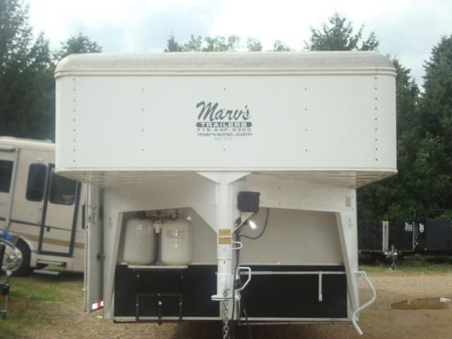 1997 8.5x40 goose neck enclosed trailer with living qtrs.