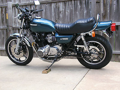 Kawasaki : Other 1980 kawasaki kz 1000 ltd restored muscle bike 250 miles since completed