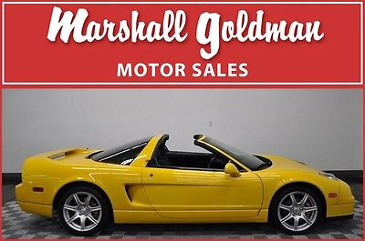 Acura : NSX T Coupe 2-Door 2003 acura nsx t spa yellow pearl onyx window sticker all books only 18900 miles