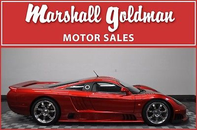 2006 SALEEN S7 TWIN TURBO LIZSTICK RED 306 MILES 6 SPEED, POLISHED WHEELS