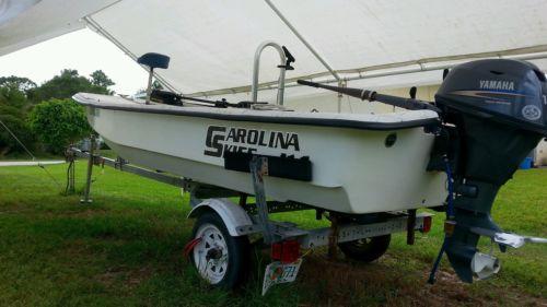 Carolina skiff bay bass flats boat