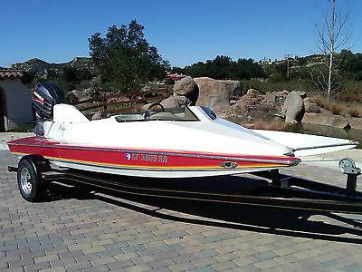 Mirage Jaguar SKI RACER Boat 245+ HP