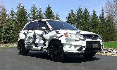 Acura : RDX Tech SH-AWD 2007 acura rdx sh awd tech every option camo wrapped enkei wheels