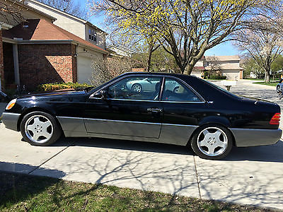 Mercedes-Benz : S-Class S600 1995 mercedes benz s 600 coupe 142 000 sticker executive package amg wheels