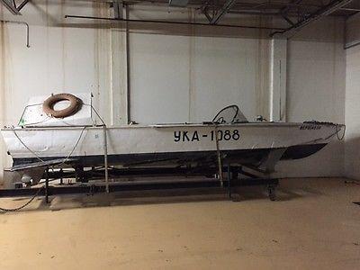 Volga Hydrofoil Boat