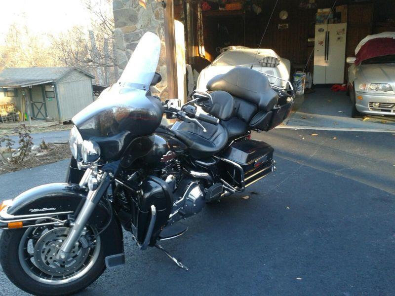 2006 Harley Davidson  Ultra Classic blackmetallic