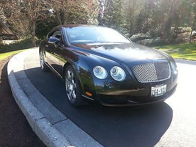 Bentley : Continental GT GT Mulliner Driving Specification 2007 black on black