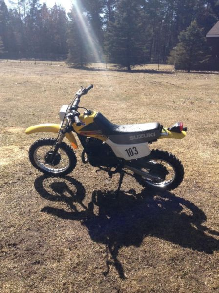 How fast does a 1987 suzuki ds80 go - answers.com