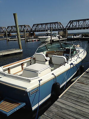 1997 Limestone 24 Express Cuddy, New Mercruiser 325 HP Bravo III, nice shape.