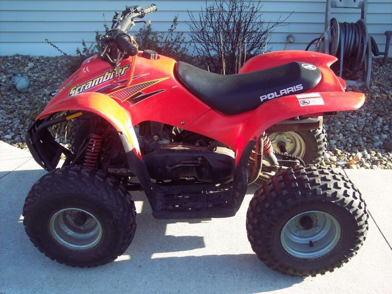 quad polaris 90 scrambler