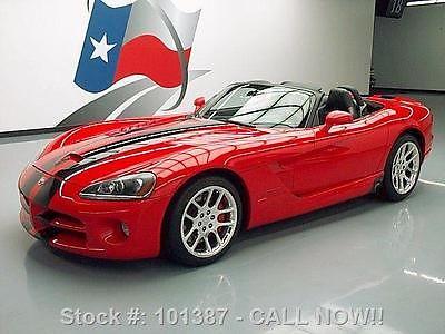 Dodge : Viper 2004   SRT-10 ROADSTER V10 DUAL STRIPES 26K 2004 dodge viper srt 10 roadster v 10 dual stripes 26 k 101387 texas direct auto