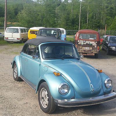 Volkswagen : Beetle - Classic none 1979 super beetle convertible