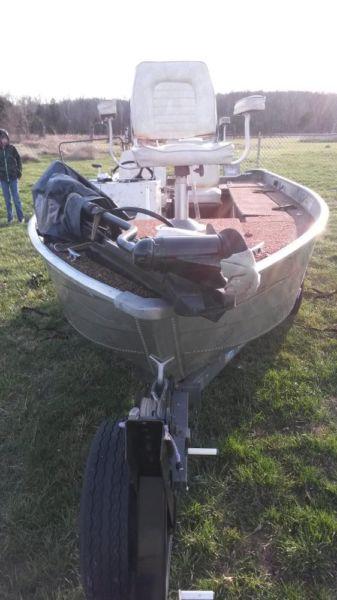 1977 sea nymph 16.5ft V bottom boat