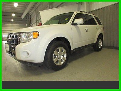 Ford : Escape Limited, 3.0L V6, LEATHER, FORD CPO 2012 ford escape limited 3.0 l leather sync sat 60 k mi ford cpo 7 yr 100 k