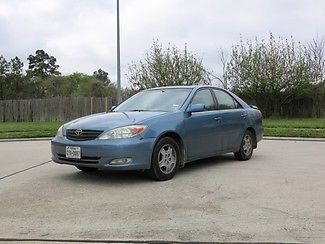 Toyota : Camry XLE Sunroof Cold A/C Gas Saver 2003 blue xle sunroof cold a c gas saver