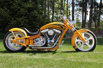 Custom Built Motorcycles Pro Street viking custom frame