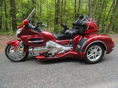 Honda : Gold Wing 2003 honda goldwing gl 1800 w california sidecar s cobra xl trike kit