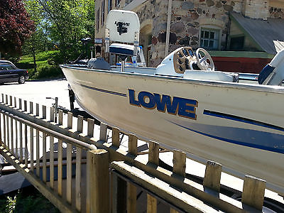 1999 Lowe Sea Nymph V Series 165SC -well mantained - fresh water 16'5