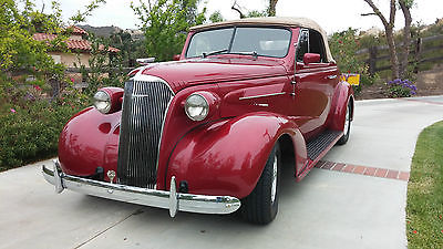 Chevrolet : Other Master Deluxe 1938 chevrolet cabriolet rumble seat convertible