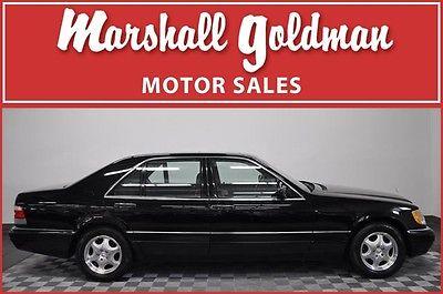 Mercedes-Benz : S-Class LWB Sedan 4-Door 1998 mercedes benz s 320 lwb in black 8000 miles 1 owner car loaded