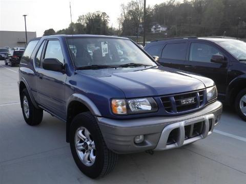 2002 ISUZU RODEO SPORT 2 DOOR SUV