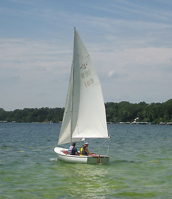 Sailboat LS-16 Daysailer 16' Sloop