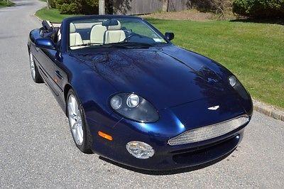 Aston Martin : DB7 Vantage Convertible 2000 aston martin db 7 convertible with 14000 original miles