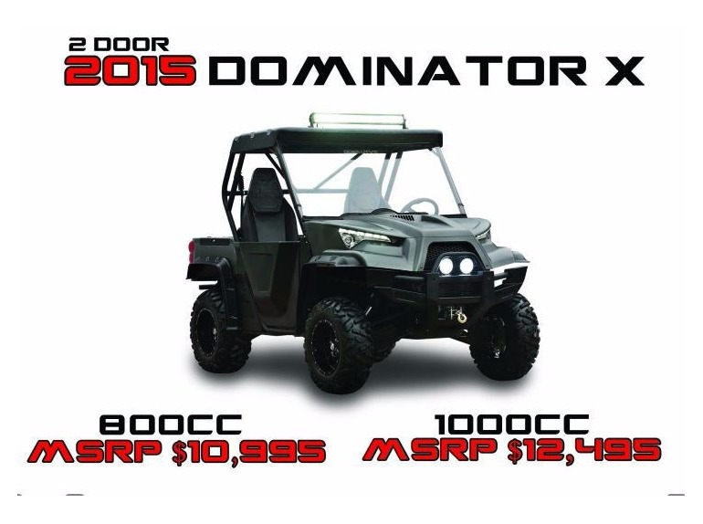 2015 Odes Dominator X 2DR-Special Edition