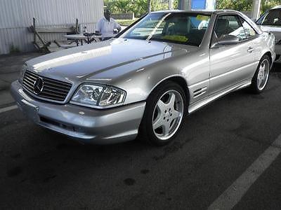 Mercedes-Benz : SL-Class Convertible 2-Door 2002 mercedes benz sl 500 sport pkg convertible 2 door 5.0 l both tops heated seat