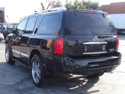 Infiniti : QX56 4WD 2008 infiniti qx 56 4 wd repairable fixable wrecked damaged save project salvage