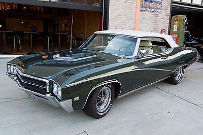 Buick : Skylark Custom Convertible 2-Door 1969 buick skylark gs 400 convertible stage 1 tribute