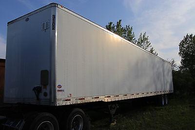 2007 Utility 4000DX Dry van Semi Truck Trailer